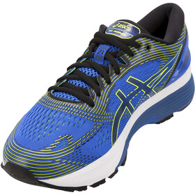 asics Gel-Nimbus 21 Schoenen Heren, illusion blue/black